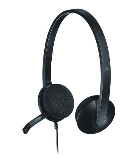 Logitech H340 slušalke z mikrofonom