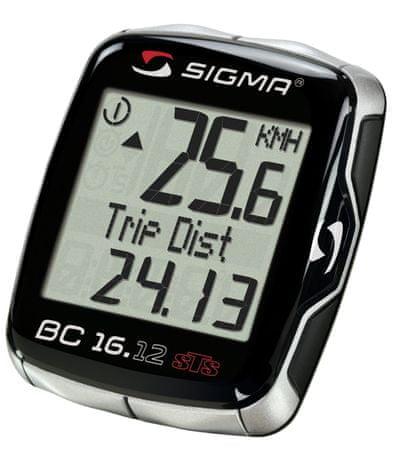 Sigma BC 16.12 STS Kerékpár komputer