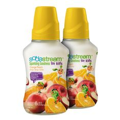 Sodastream Orange Peach Goodness Kids 2 x 750 ml