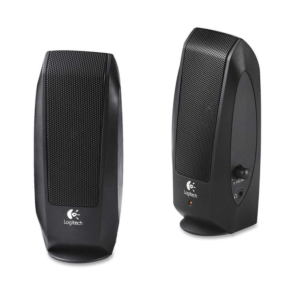 Logitech S-120 Black Speaker System (980-000010)