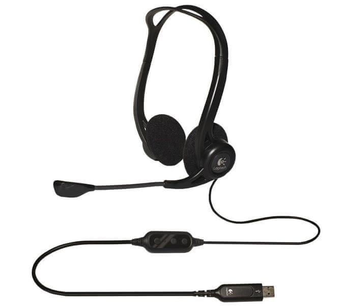 Logitech Headset 960 Stereo Headset USB (981-000100)