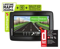 TomTom VIA 135 Europe Traffic LIFETIME mapy, 1EQ5.002.12