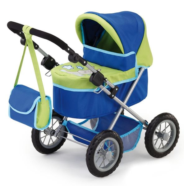 Bayer Design Trendy kočárek pro panenky blau/grün