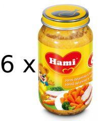 Hami Jarná zelenina s morkou - 6 x 200g