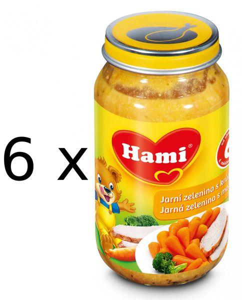 Hami Jarní zelenina s krůtou - 6 x 200g