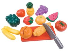 Teddies Krájacie ovocie a zelenina plast v krabičke