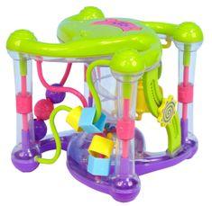 Teddies BABY Zábavná kocka pre najmenších 18 melódií so svetlom
