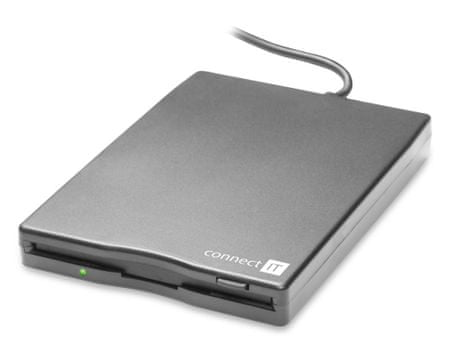 "Connect IT Externí disketová 3.5"" FDD mechanika, USB (CI-130)"