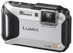 Panasonic Lumix DMC-FT5EP stříbrná - II. jakost