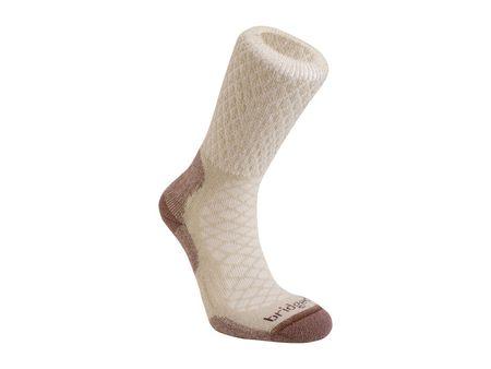 Bridgedale MerinoFusion Trail Női zokni, M (38–40), Krém