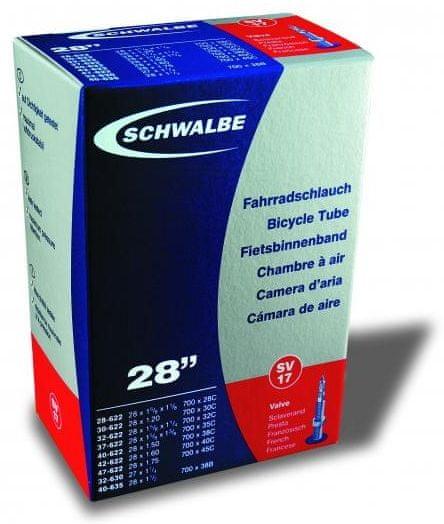 """Schwalbe Duše pro trekingové kolo 28"""" galuskový v. (SV17) Set 2ks"""