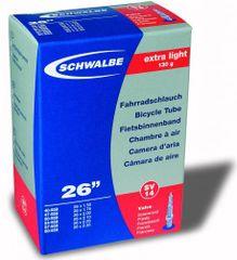 """Schwalbe Duše Extra light 26"""" 130g (SV14) (26x1.5-2.35) Set 2ks"""