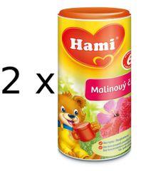 Hami Čaj malinový - 2 x 200g