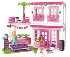MEGA BLOKS Barbie Build'n Style Beach House Építójáték