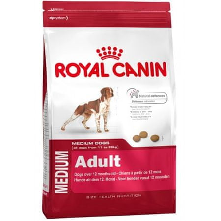 Royal Canin Medium Adult hrana za pse, 15 kg
