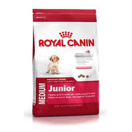 Royal Canin sucha karma dla psa medium Junior - 15kg