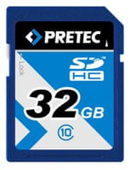 PRETEC SDHC 32 GB (class 10)