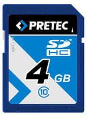 PRETEC SDHC 4 GB (class 10)