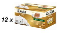 Gourmet Gold kosi mesa s pašteto 12 x (4 x 85g)