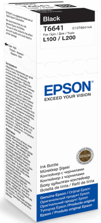Epson tinta u bočici T6641, crna (C13T66414A)