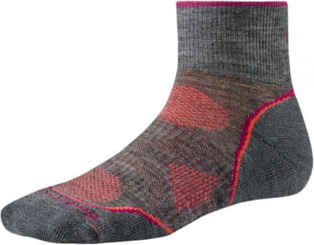 SMARTWOOL W's PhD Outdoor Lt. Mini M.Gray M