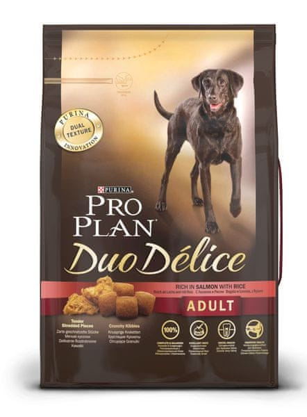 Purina Pro Plan Dog Adult Duo Délice Salmon 10 kg