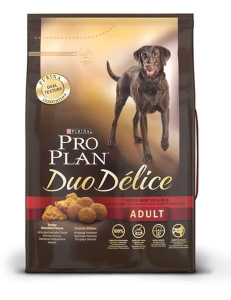 Purina Pro Plan Dog Adult Duo Délice Beef 2,5 kg