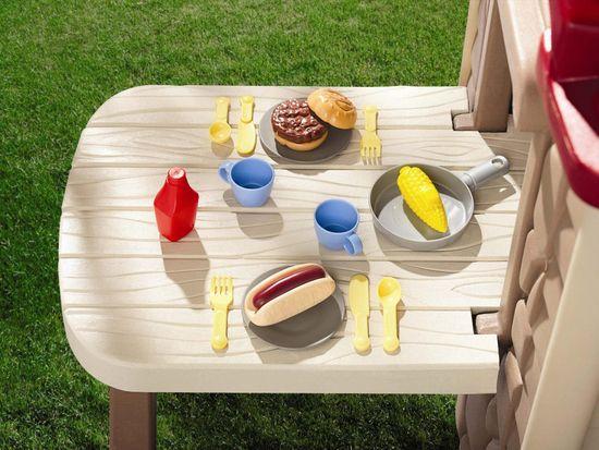 Little Tikes počitniška hiša z mizo za piknik