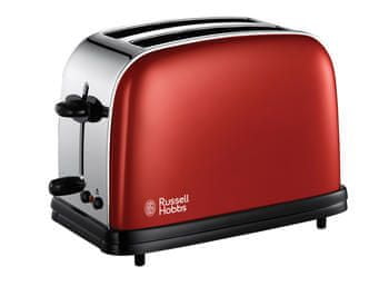 Russell Hobbs 18951-56/RH Colours Range Toaster - Red