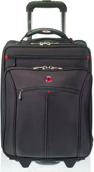 """Wenger VERTICAL cestovní kufr s prostorem pro notebook 16"""", černý"""