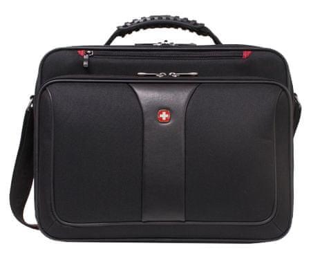 """Wenger LEAGCY  notebook táska 16"""", fekete"""