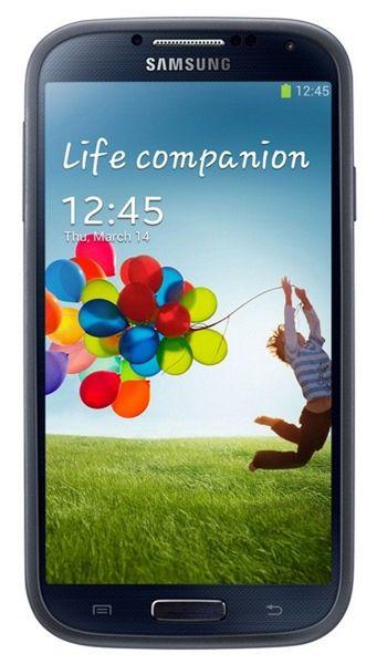 Samsung Kryt EF-PI950BNEG Galaxy S4, tmavě modré