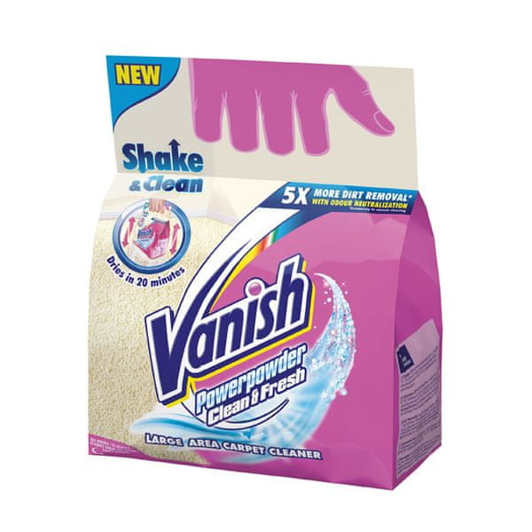 Vanish Prášek na koberce Clean&Fresh 650 g