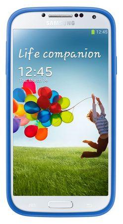 SAMSUNG EF-PI950BC Galaxy S4 tok, kék