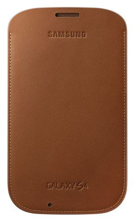 SAMSUNG EF-LI950BA Galaxy S4 bőrtok, barna
