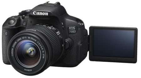 Canon EOS 700D + 18-55 mm IS STM + 55-250 mm IS II
