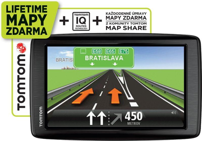 TomTom START 25 Regional LIFETIME mapy - III. jakost