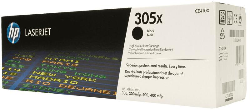 HP tisková kazeta CE410X, černá