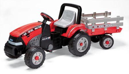 PEG PEREGO Traktor z przyczepką Maxi Diesel