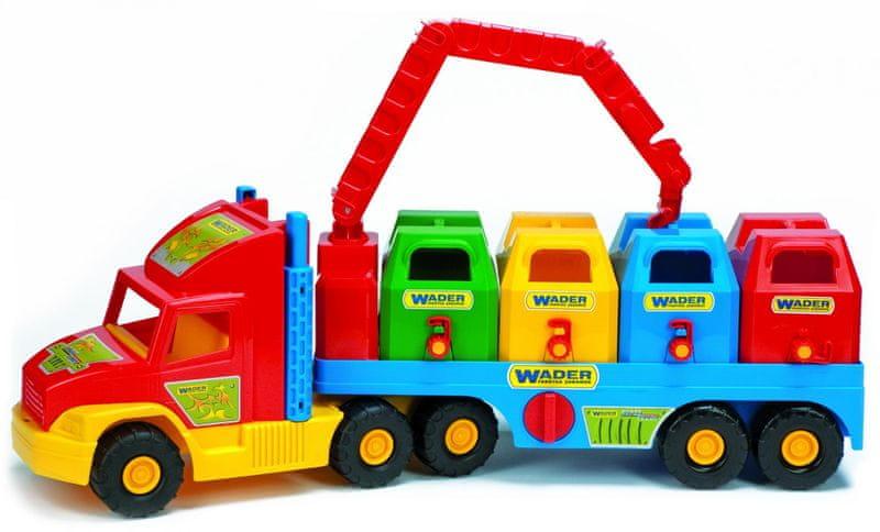 Wader Super Truck popelářský vůz I.