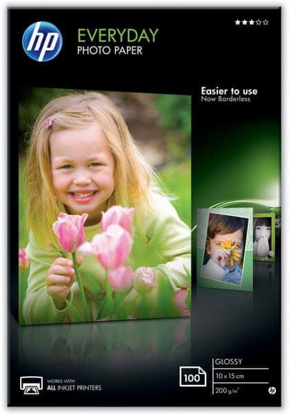 HP fotopapír Glossy Everyday CR757A, 10x15 cm, 100 ks
