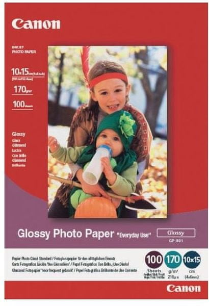 Canon fotopapír GP-501, A4, 100 ks (0775B001)