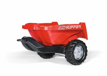 Rolly Toys Przyczepa do  traktora, czerwona