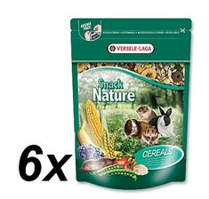 Versele - Laga karma dla gryzoni Snack Nature zboża 6x 500g