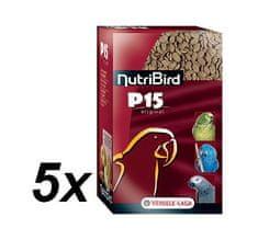 Versele Laga NutriBird P15 Original pre veľké papagáje 5 x 1kg