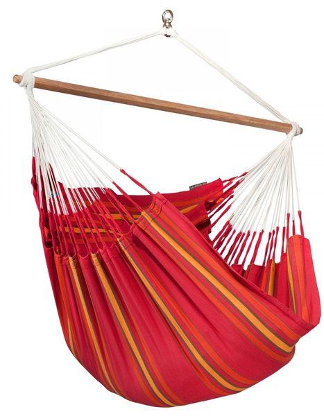 La Siesta Currambera sedačka lounger červená