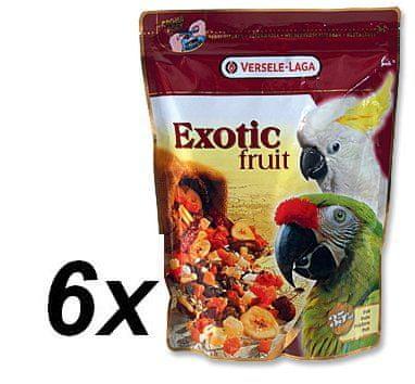 Versele Laga Exotic mešanica sadja, žit in semen za velike papige, 6 x 600g