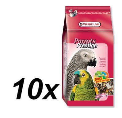 Versele Laga Prestige Papagájeledel, 10 x 1 kg, Nagy papagájoknak