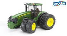 BRUDER Farmer - traktor John Deere 9730 s dvojitými koly 1:16