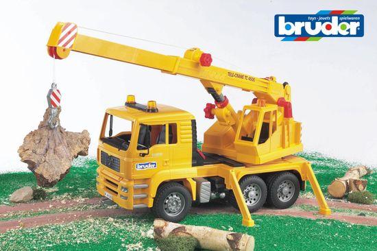 BRUDER 2754 MAN Stavebný žeriav